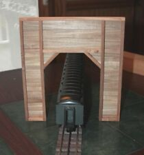 Pair of O gauge handmade wood tunnel portals for Lionel ,MTH, Atlas , etc.