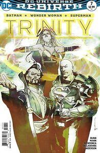 Trinity Comic 7 Rebirth Cover B Variant Bill Sienkiewicz First Print 2017 DC