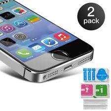 2x Panzerfolie Für iPhone 5 5S SE Echt Glas Schutzglas Schutzfolie Displayschutz