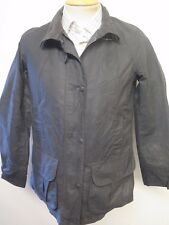 Ladies Barbour Flyweight Sally Waxed Utility Jacket UK 14 Euro 40 in Black