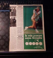 Advertising Italian Advertising Tennis: Bjorn Borg + Diadora (1981)