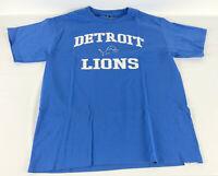 Detroit Lions T-Shirt - NFL Team Appaprel - Blue - Size Large L