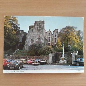 Postcard Hay-On-Wye The Castle Powys Wales Postcard