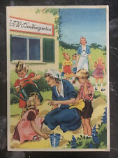 Mint WW2 Postcard Germany Army Women at War Caring for Children Kindergarden