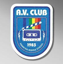 Hawkins AV Club Stranger Things retro Sticker decal car laptop