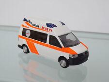 Rietze 53604-H0 1:87 - Ambulancia móvil HORNES PLATA `10 Dkt RTW HAMBURGO -nuevo