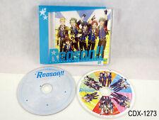 The Idolmaster SideM Animation Project 01 Reason!! CD + Blu-Ray Import US Seller