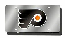Philadelphia Flyers NHL Logo Mirror Look LASER License Plate