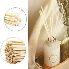 100X 24cm Natural Reed Fragrance Aroma Oil Scent Diffuser Rattan Sticks For Home