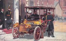 POSTCARD  CELEBRITIES  OF  THE  MOTORING  WORLD  Duke of  Connaught    TUCK