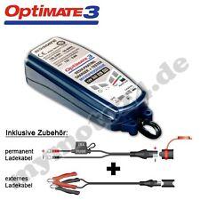 Batterieladegerät Tecmate OptiMate 3, vollst 12V-AkkuPflege, TM-430, SAE-Stecker