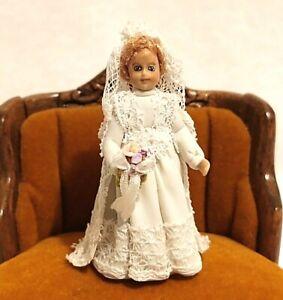 Miniature Doll Clay Girl Dollhouse 1:24
