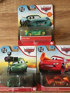 Disney Pixar Cars - New Bundle of 3 - Mint in Packs - Free Postage