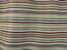 Grand Stripe Multi 100% Polyester Fabric