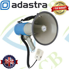 More details for adastra megaphone 25w 1km range with siren & microphone for outdoor announcement
