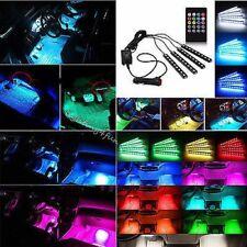 4 X Bänder led 30cm + Fernsteuerung 106 206 cc 306 406 407 Tuning Auto Neon