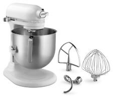 KitchenAid 8 Quart Commercial Stand Mixer (NSF Certified) - White