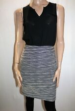 TARGET Brand Black Sleeveless Dress With Textured Skirt Size 10 BNWT #TQ71