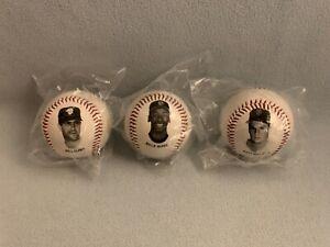 Lot of 3- 92 Chevron Fotoball Baseball San Francisco Giants Clark McGee Williams