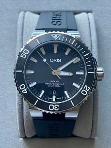 Oris Aquis Date 43.5mm Automatic Mens Watch with Box and Papers