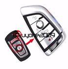 Uncut Remote Car Key Shell Case Fob 4 Button for BMW X5 X6 2014-2016