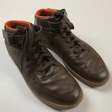 LACOSTE Shoes Mens - Turbo Hi Oslo Brown with Gum Sole - Sz 13 US