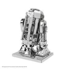 Metal Earth 3D Laser Cut Steel Model Kit Star Wars R2-D2 Model Toy Handmade Gift