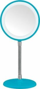 NEW Conair Flex LED Illumination Mirror 3X Magnification 6.5 inch BE155GNKT Teal