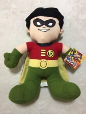 "nwt dc super friends robin 14"" plush batman friend"
