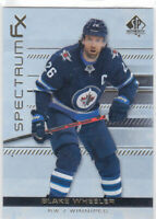 19/20 SP AUTHENTIC..BLAKE WHEELER..SPECTRUM FX..# S-3..JETS..FREE COMBINED SHIP