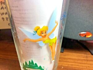 RARE ~ Disney Tinker Bell / Peter Pan 16oz Pint Glass ~ Second Star to the Right