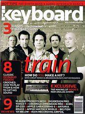 2006 TRAIN Steely Dan DONALD FAGEN Lessons, Moog Little Phatty Keyboard Magazine