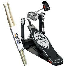 TAMA Iron Cobra HP900RN Rolling Glide Foot Machine KEEPDRUM Drumsticks
