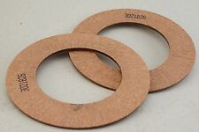 (2) Genuine Oem Land Pride Ec Clutch Lining Ring Disc Made in Italy Eurocardan