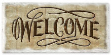 CounterArt Stoneware Sign - Welcome