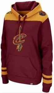 MAJESTIC NBA CLEVELAND CAVS Hooded Sweatshirt DOUBLE DOUBLE HOODIE Deadstock NWT