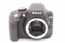 Nikon D D3300 24.2MP Digital SLR Camera - Nero (solo Corpo) - Conta Scatti: 258