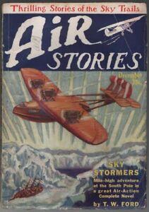 Air Stories 1927 December, #5.    Pulp