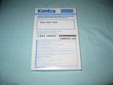 KONICA MINOLTA -BLACK DEVELOPER FOR-7020,7030,7025-NEW AND SEALED
