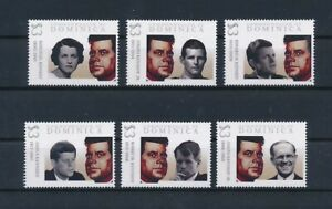 D193474 Famous People John F. Kennedy MNH Dominica