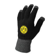 Borussia Dortmund Smartphone-Handschuh BVB Smartphone Handschuh mit Emblem Gr. L