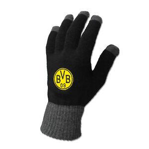 Borussia Dortmund Smartphone-Handschuh BVB Smartphone Handschuh mit Emblem Gr. S