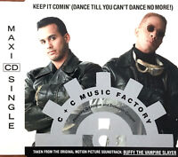 C + C Music Factory Maxi CD Keep It Comin' (Dance Till You Can't Dance No More!