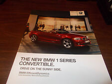 2012 BMW 1-Series Convertible 66-Page Deluxe Sales Catalog
