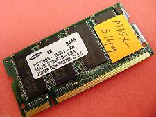 Toshiba Satellite M35X-S149 Samsung 256MB PC2700 DDR CL2.5 Ram K000018970 SODIMM