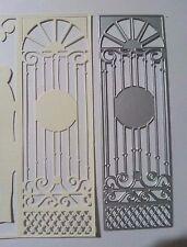 PANNELLO PORTA PORTONE chiesa taglio DIE Card Making Scrapbooking Goffratura ARTE Craft
