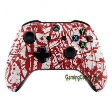 Blood Spatter Pattern Soft Touch Repair Shell for Xbox One / X One S Controller