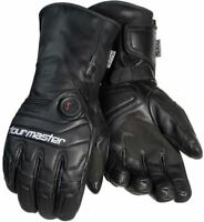 Tourmaster Synergy 7.4V Goatskin Leather Gloves Battery Heated Waterproof