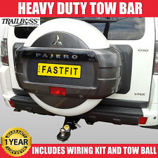 TrailBoss Heavy Duty TowBar SYDNEY Suit Mitsubishi Pajero  - 11/2006 ON Tow Bar