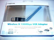 WLAN Stick 150Mbit Wireless Lan USB 2.0 Adapter Stick LogiLink WL0145A v.1.0